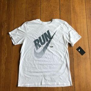 Nike NikeLab Run Mens Short Sleeve Shirt Size XL